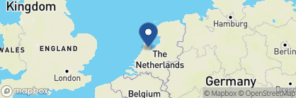Map of Ambassade Hotel, Netherlands
