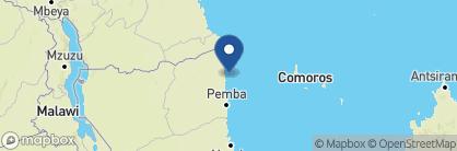Map of Anantara Medjumbe Island Resort & Spa, Mozambique