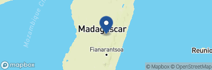 Map of Couleur Café, Madagascar