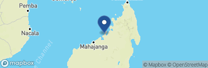 Map of Anjajavy l'Hôtel, Madagascar