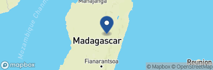 Map of The Royal Palissandre, Madagascar