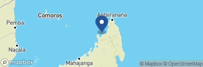Map of Jardin Vanille, Madagascar