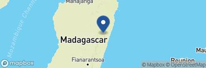 Map of Vakona Forest Lodge, Madagascar