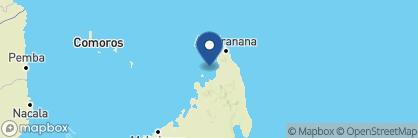 Map of Constance Tsarabanjina, Madagascar