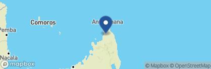 Map of Relais de l'Ankarana, Madagascar