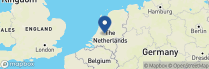Map of Court Hotel, Netherlands