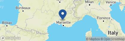 Map of La Bastide de Marie, France