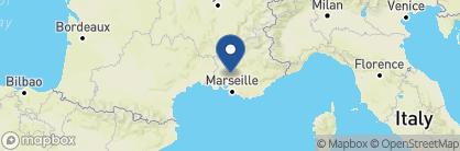 Map of Domaine de Fontenille, France