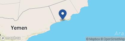 Map of Salalah Hilton, Oman