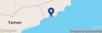 Map of Al Baleed Resort Salalah by Anantara, Oman