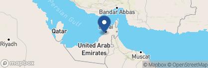 Map of Le Royal Meridien, Dubai