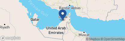 Map of Al Maha, a Luxury Collection Desert Resort & Spa, Dubai