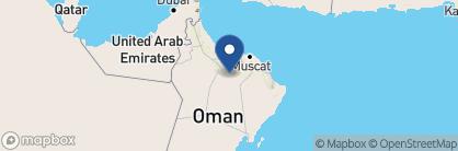 Map of The Falaj Daris, Oman