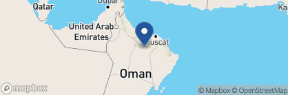 Map of The Golden Tulip, Oman