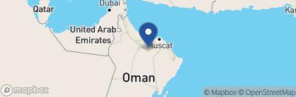 Map of Anantara Al Jabal Al Akhdar Resort, Oman