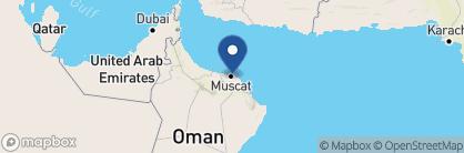 Map of Radisson Blu, Oman