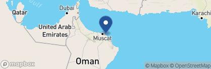 Map of Shangri-La Al Waha, Oman