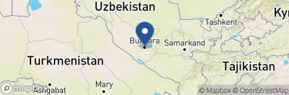 Map of Minzifa, Uzbekistan