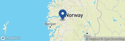 Map of Flåmsbrygga Hotel, Norway