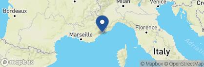Map of Hôtel La Pérouse, France