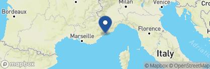 Map of Cap Estel, France