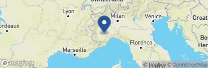 Map of Hotel Vigna Magica, Italy