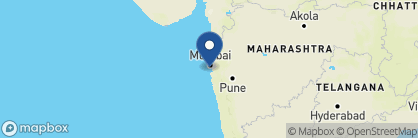 Map of Trident Nariman Point, India
