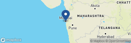 Map of Deccan Odyssey, India