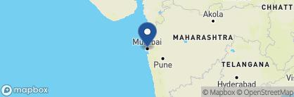 Map of The Leela Mumbai, India