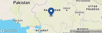 Map of Mihir Garh, India