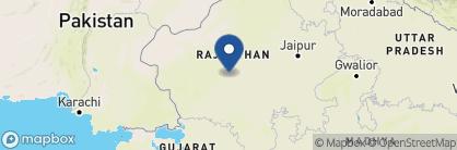 Map of Rohet Garh, India