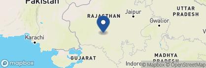 Map of Chanoud Garh, India