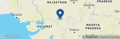 Map of Jagat Niwas Palace, India