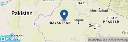 Map of Ranvas, India