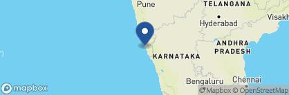 Map of Vivanta by Taj — Holiday Village, India