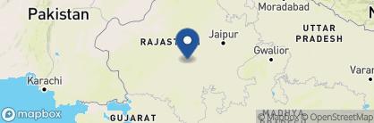 Map of Chhatra Sagar, India