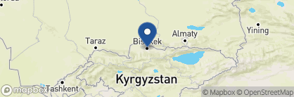 Map of Silk Road Lodge, Kyrgyzstan