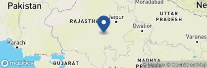 Map of Fort Barli, India