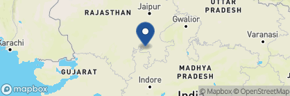 Map of Bhainsrorgarh Fort Hotel, India