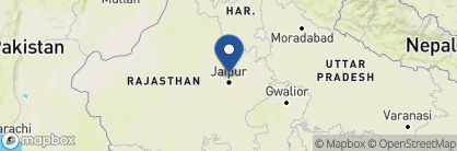 Map of Samode Bagh, India