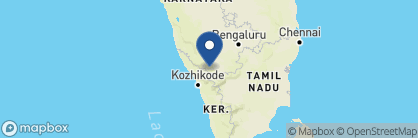 Map of The Serai, Kabini, India
