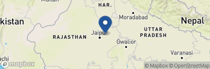 Map of Amanbagh, India