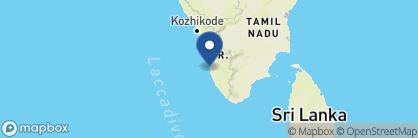 Map of A Beach Symphony, India