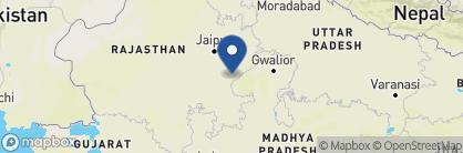 Map of Aman I Khas, India