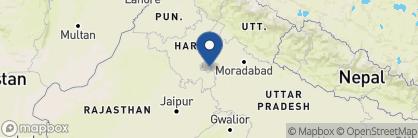 Map of Colonel's Retreat, India