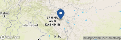 Map of Chamba Camp Thiksey, India
