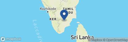 Map of Heritage Madurai, India
