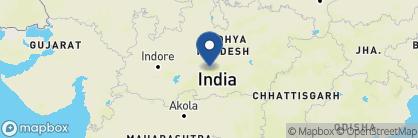 Map of Reni Pani Lodge, India