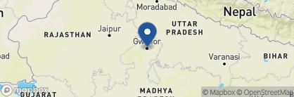 Map of Usha Kiran Palace, India