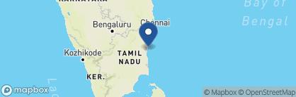 Map of Maison Perumal, India
